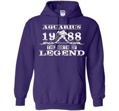 Aquarius-1988 the birth of Legend Tshirt