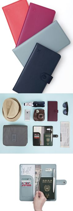 Don't get on a plane without it! All the pockets you need for all your travel needs!