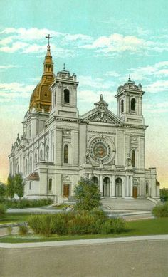 Basilica of St Mary in Mpls, MN