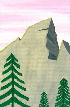 Desenho do Dia #167 - Rochedo teste - Soraia Casal