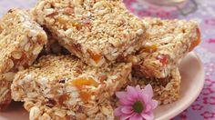 Rezept: Müsliriegel mit Erdnussbutter und Honig