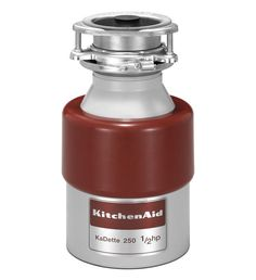 KitchenAid KCDB250G 1/2 Horsepower Continuous Feed Food Waste Disposer