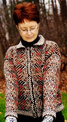New issue of Knitty! This sweater. Wow.