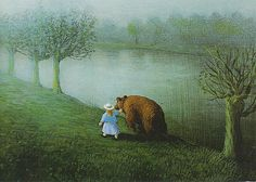 © Michael Sowa Reminds me of my daughter so I bought this print. :)