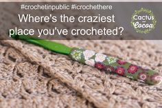 Where are all the places that you crochet? #crochetinpublic #whereicrochet #icrochethere
