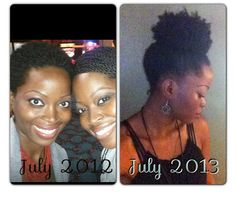 Natural hair growth/ Instagram:@msnaturallymary