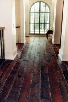 Beautiful floors- loves these for kitchen, dining, and hall
