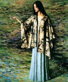 xie chuyu art | Xie Chuyu,china artist,oil painting,paintings,neoclassical,people ...