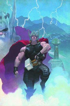 Em Andamento | Marvel NOW! – Thor: Deus do Trovão # 1
