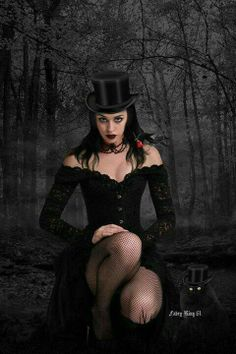 dark-beauties: Dark beauty http://dark-beauties.tumblr.com/ | More sexy goth? Yes please! http://www.pinterest.com/thevioletvixen/goth-love/