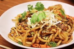 Noodles & Company's recipe for their Japanese pan noodles.