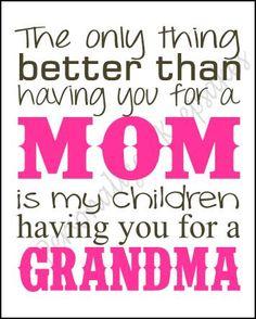 Personalized Mom/Grandma Wall Decor #mom #mothersday