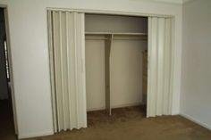 New Closet Door Curtains Diy Design Studios Ideas Curtains For Closet Doors, Sliding Wardrobe Doors, Sliding Barn Door Hardware, Sliding Glass Door, Hang Curtains, Door Hinges, Shed Doors, Room Doors, Barn Doors