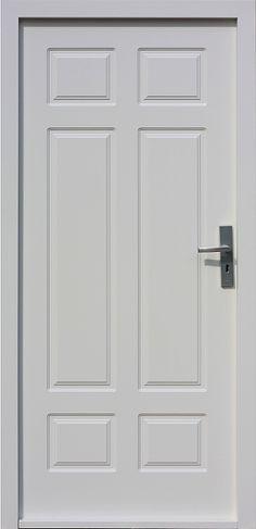 Drewniane wejściowe drzwi zewnętrzne do domu z katalogu modeli klasycznych wzór 533,6