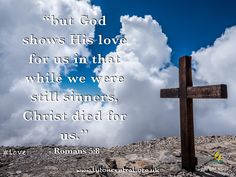 Romans 5:8 #love #Jesus #death #sacrifice #verseoftheday #bible #truth #scripture