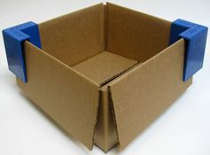 Simply fold down the flaps of your box, place the Flap Tack over the opposing corners, and poof!  No more carton flaps sticking out, taking up space, and worst of all, poking you in the legs.  This small addition to your packing and shipping workflow will work wonders!