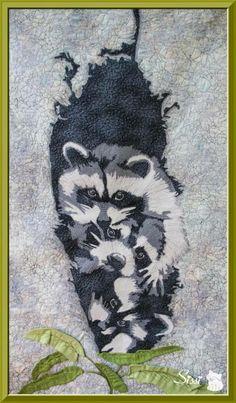 Mapache pigmeo de Cozumel by Sissi Gutiérrez (Sissi Quilting & Stitch)