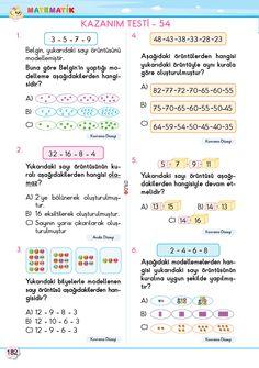 2. Sınıf Soru Bankası Matematik Süper Kitap Kindergarten Worksheets, Bullet Journal, Math, Words, Youtube, Math Resources, Youtubers, Horse, Youtube Movies