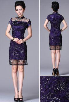 Cheongsam Dress on Pinterest | Chinese Dresses, Cheongsam Modern ...
