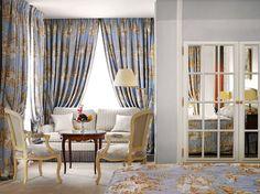 quarto maravilhoso em tons de azul