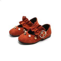 BOKEN lány lapos cipő új aranyos stílus kisgyermek lány hercegnő cipő szegecs gyerekek cipő gyermek cipő cipő cipő Baby Shoes, Clothes, Fashion, Outfits, Moda, Clothing, Fashion Styles, Baby Boy Shoes, Kleding
