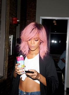 36 Pics Of Celebs I Wish Really Had Pastel Hair photo Callina Marie& photos Love Hair, Gorgeous Hair, Pastel Pink Hair, Lilac Hair, Blonde Pink, Rihanna Hairstyles, Natural Hair Styles, Long Hair Styles, Hair Photo