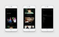 ArtCast for Tablet and Mobile on Behance