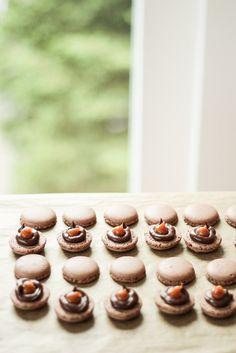 Die Glücklichmacherei: Macarons 〖Kaffee Karamell〗