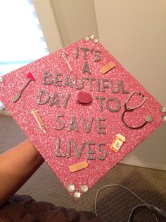 Tribute to McDreamy and off to PA school! Class of 2015 graduation cap