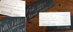 Brigette + Ryan :: Weddings and Events Invitations :: The Happy Envelope