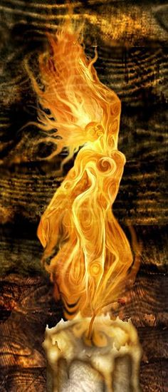 golden flame to light your way