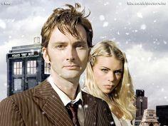 When polygamy is legal. David Tennant (#futurehusband) and Billie Piper (#futurewife)