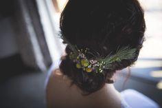 Autumn Greenery DIY Wedding by Those Photos Hair Decorations, Diy Wedding, Greenery, Wedding Hairstyles, Weddings, Long Hair Styles, Bride, Photos, Beauty