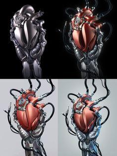 Heart by Aleksandr Kuskov, via Behance