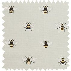 Bees Fabric by the Metre