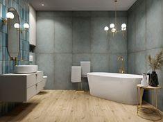 Galeria łazienek - zdjęcia, gotowe projekty - Domni.pl Wood Shed, Bathtub, Plates, Bathroom, Stylish, Collection, Log Cabin Siding, Standing Bath, Licence Plates