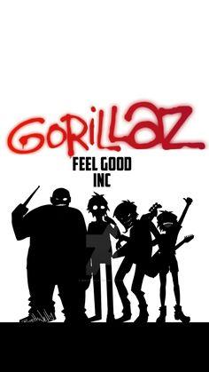 Gorillaz wallpaper by gamer Top Digital Cameras, Gorillaz Fan Art, Hotarubi No Mori, Band Wallpapers, Jamie Hewlett, Music Pics, Creative Workshop, Indie Pop, Arte Horror