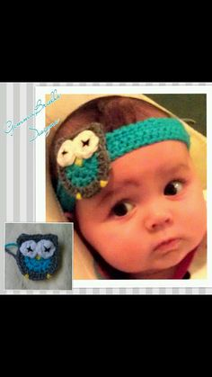 Owl headband on Etsy, $10.00