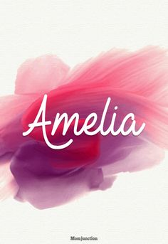 Amelia | Baby names 3884Baby Girl Names That Start With Letter A