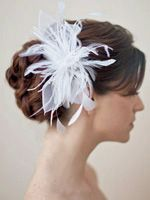 simple, yet elegant. Will match the flower on the bridesmaid dress