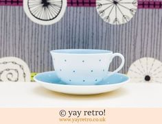 107: Susie Cooper Polka Dot Cup & Saucer (£10.00)