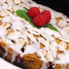 Raspberry Almond Coffeecake Allrecipes.com
