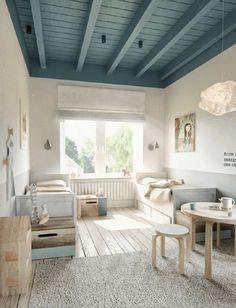 Le vert de gris est très tendance depuis quelques temps en décoration… voilà qu'il entre petit à petit dans la chambre des kids. Neutre et trendy, comment suivre cette tendance sans se …                                                                                                                                                     Plus