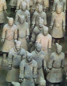 Terracotta Army at Xi'an, China