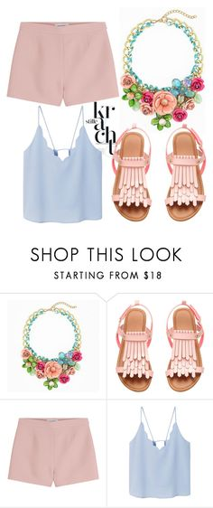 """""""KR"""" by olecika-777 ❤ liked on Polyvore featuring Valentino, MANGO and PolyvoreMostStylish"""