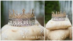 "Stacey Caron announces Creating A Gilded Life Contest | ""Her Royal Highness"" Crown by Shea Fragoso and Debbie Murray of @AGildedLife"