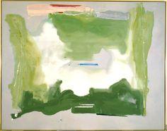 Lush Spring, Helen Frankenthaler, 1975.