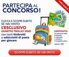 Vinci zainetto Didò con il concorso instant win - http://www.omaggiomania.com/concorsi-a-premi/vinci-zainetto-dido-con-il-concorso-instant-win/