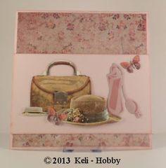 Joy Crafts Cutting & Embossing mal 6002/0227 Parfumfles. Achtergrondpapier en 3D Knipvel  Studio Light.