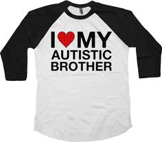 Autism Baseball Tee For Kids  For the same design in a t-shirt: https://www.etsy.com/ca/listing/270086019/autism-awareness-t-shirt-i-love-my